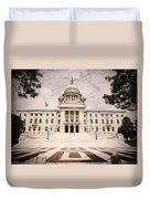 Rhode Island State House Duvet Cover