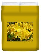 Rhodies Yellow Rhododendrons Art Prints Baslee Troutman Duvet Cover