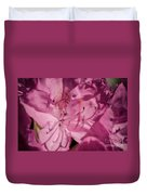 Rhododendron-close Up Duvet Cover