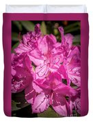 Rhododendron-close Up1 Duvet Cover