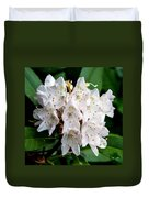 Rhododendron Family Of Flowers Duvet Cover