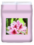 Rhododendron Floral Art Prints Rhodies Flowers Canvas Baslee Troutman Duvet Cover