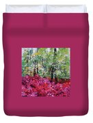 Rhododendron Glade Norfolk Botanical Garden 201821 Duvet Cover
