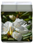 Rhododendron I Duvet Cover