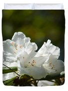 Rhododendron II Duvet Cover