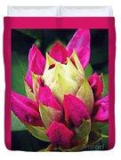 Rhododendron Velvet    Duvet Cover