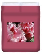 Rhododendrons Art Prints Floral Pink Rhodies Canvas Baslee Troutman Duvet Cover