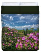 Rhododendrons Duvet Cover