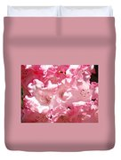 Rhododendrons Flowers Art Print Pink Rhodies Baslee Troutman Duvet Cover