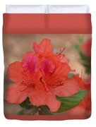Rhododendrum Oldhamii Duvet Cover