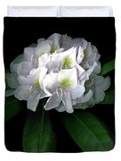 Rhody Queen - White Duvet Cover