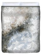 Rhymes And Blessings Abstract Painting Duvet Cover