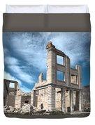Rhyolite Ghost Bank Duvet Cover