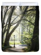 Rhythm Of The Trees Duvet Cover