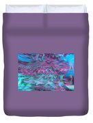 Rhythmic Waves Duvet Cover