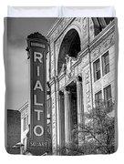 Rialto Square Theater Duvet Cover