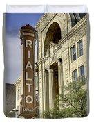 Rialto Theater Duvet Cover