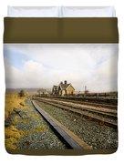 Ribblehead Station Duvet Cover
