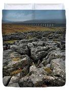 Ribblehead Viaduct, Yorkshire, England Duvet Cover