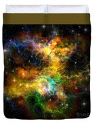 Ribbon Nebula Duvet Cover