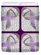 Ribbon Of Change Duvet Cover