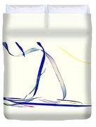 Ribbons Four Duvet Cover