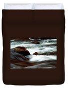 Ribbons Of Water Duvet Cover