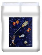 Ribcage To The Stars Duvet Cover
