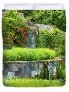 Rice Garden Duvet Cover