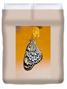 Rice Paper Out From Chrysalis Duvet Cover