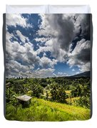 Rice Terrace Duvet Cover