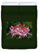 Rich Pink Blossoms Duvet Cover
