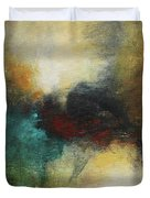 Rich Tones Abstract Painting Duvet Cover