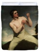 Richard Humphreys, The Boxer                                     Duvet Cover