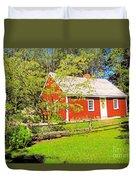 Richard Hunnewell House, Scarborough Maine Duvet Cover