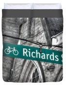 Richards Street Duvet Cover