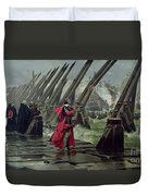 Richelieu Duvet Cover by Henri-Paul Motte