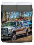 Richmond Fire And Ems Equipment 7461 Duvet Cover