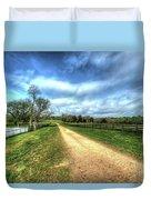 Richmond-lynchburg Stage Road, Appomattox, Virginia Duvet Cover