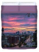 Richmond Sunset Libby Hill Duvet Cover
