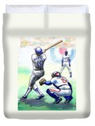 Rick Monday Duvet Cover