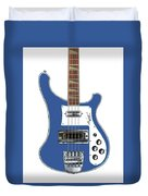 Rickenbacker Bass 4001 Body  Duvet Cover