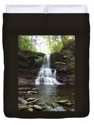 Ricketts Glen Waterfall Duvet Cover