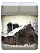 Rickety Old Barn Duvet Cover by Stephanie Calhoun