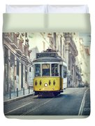 Ride These Streets Duvet Cover