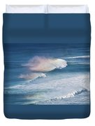 Riding The Waves Duvet Cover