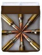 Rifle Ammuntion Duvet Cover
