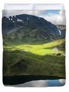 Rila Mountain Duvet Cover