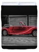 Riley Rmd 1950 Drophead Coupe Duvet Cover