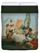 Rinaldo Enchanted By Armida Duvet Cover